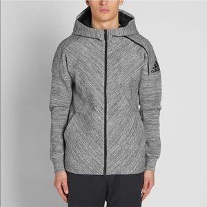 Adidas Z.N.E. Hooded Road Trip Zip Up Hoodie (Med)